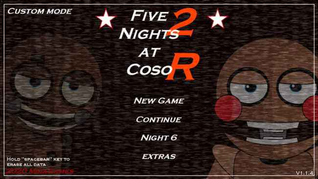 Five Nights at Coso 2 – Remake Free Download