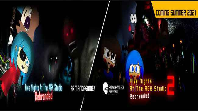 Five Nights at The AGK Studio: Rebranded Series Free Download